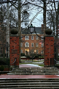 Cutler Hall on College Green; Ohio University; Athens, Ohio