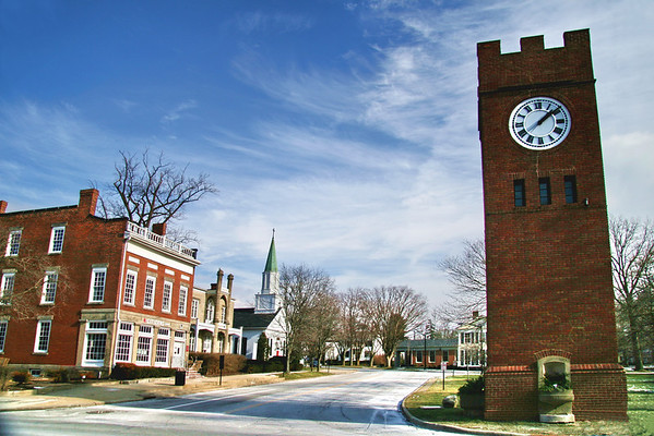 Town Square; Hudson, Ohio