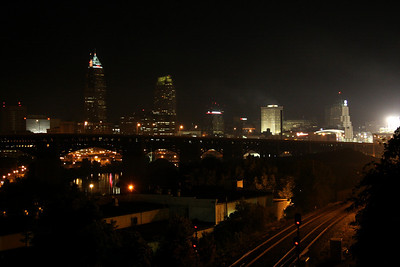 View from the south; Cleveland, Ohio