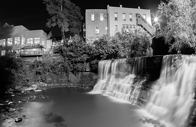 Chagrin Falls at Chagrin Falls, Ohio