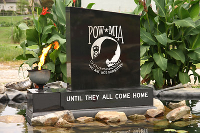 P.O.W. memorial at The Ohio Veterans Memorial Park, Clinton, Ohio
