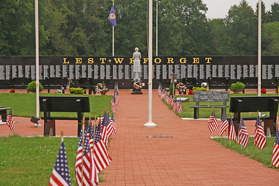 Ohio Veterans Memorial Park, Clinton, Ohio