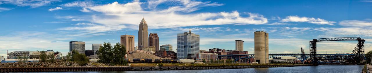 Cleveland Skyline Pano