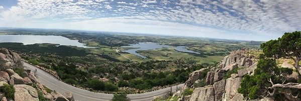 View from Mount Scott in Oklahoma
