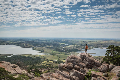 Summit of Mount Scott in Oklahoma