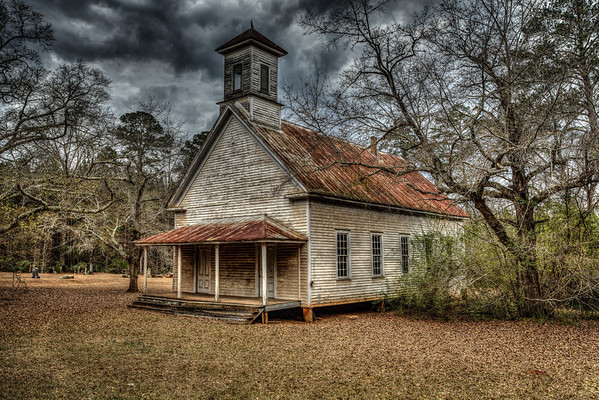 Old Georgia Churches