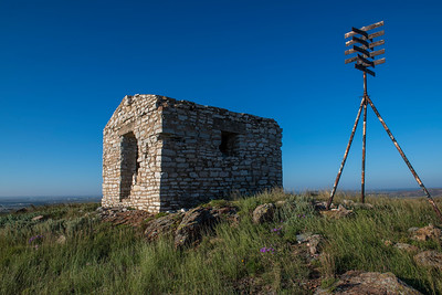 Block House, Signal Mountain, Fort Sill