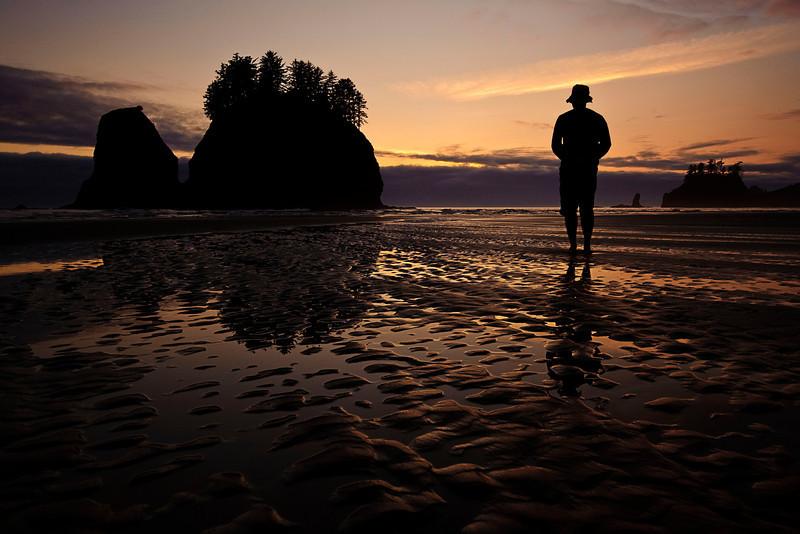 Second beach, Olympic Peninsula