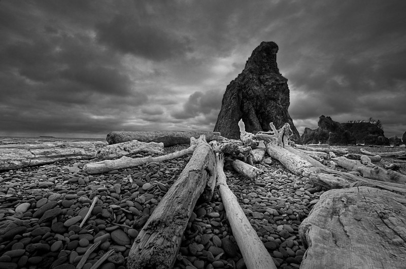 Stormy Ruby Beach
