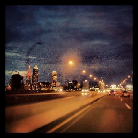 Clevelands skyline