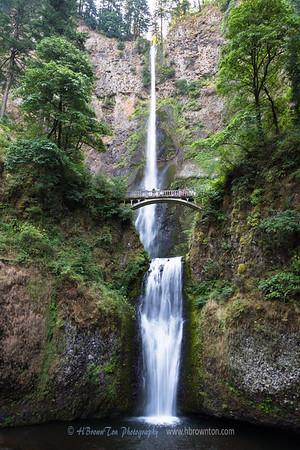 The Great Multnomah Falls