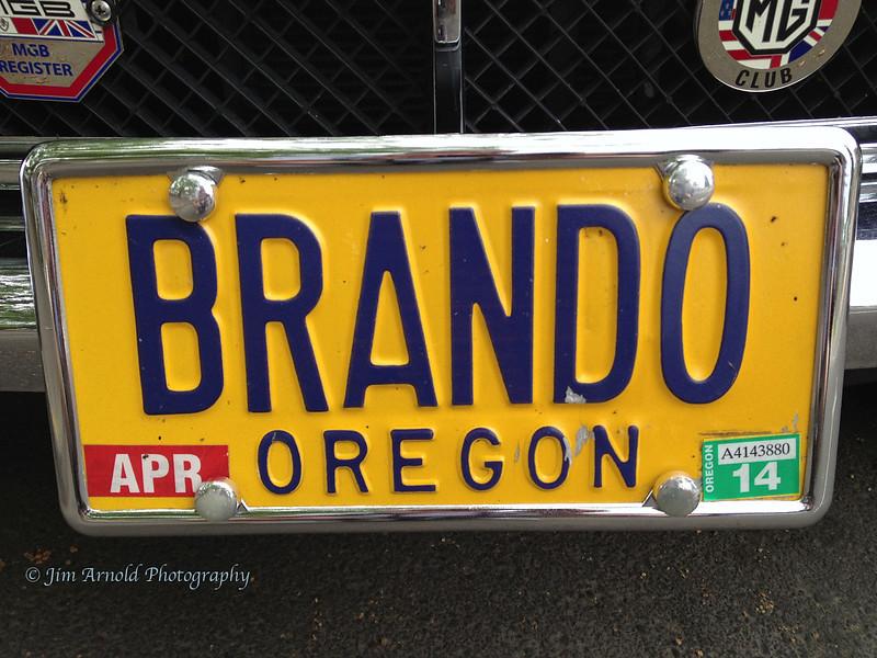 BRANDO Plate - Corvallis