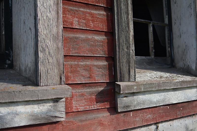 Barn Windows - Howard Buford Recreation Area