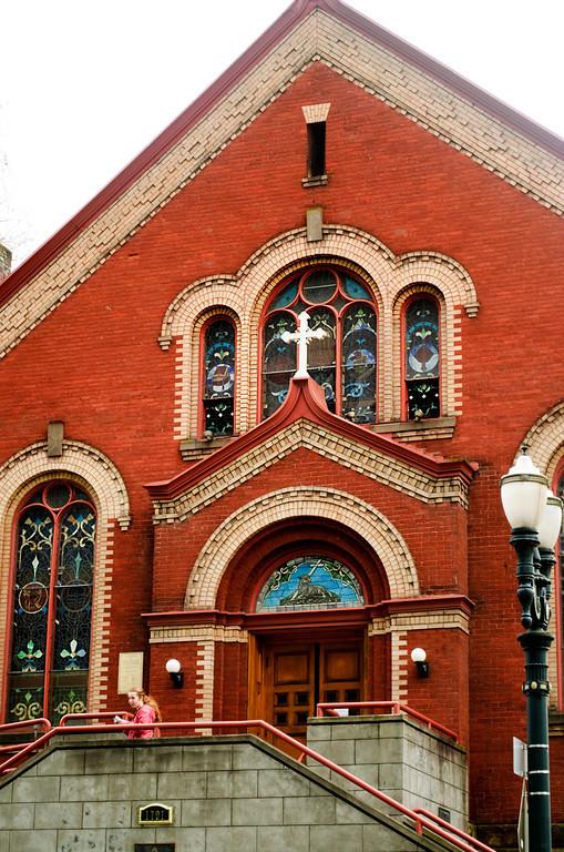 St. Michael the Archangel Church  Portland, Oregon