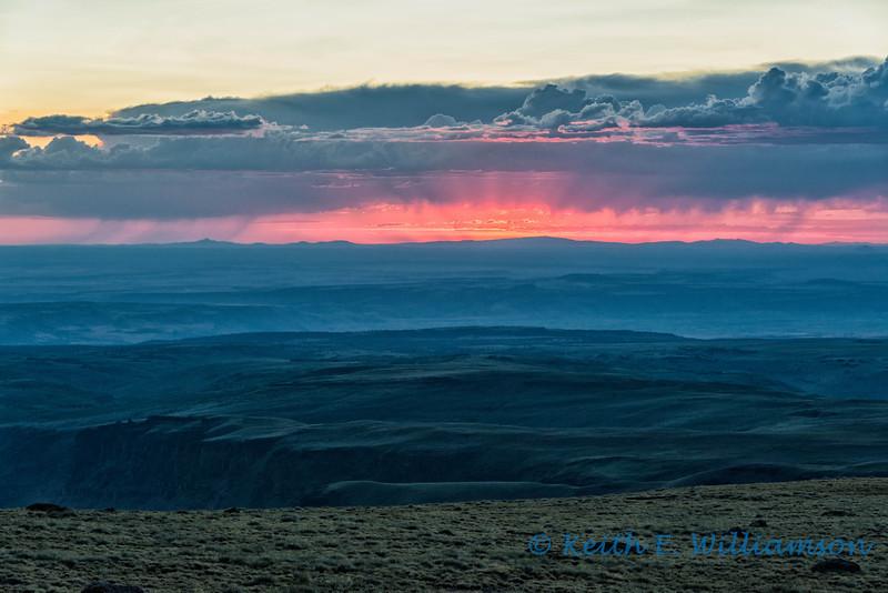 Sunset, Steens Mountain