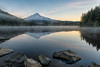 Mount Hood, Trillium Lake, sunrise