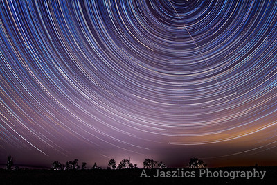 Star Trails over Salem