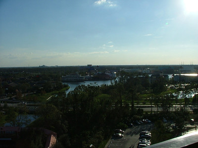 Looking out over Orlando