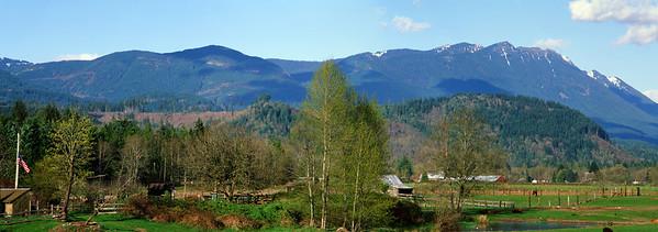 Plateau just west of Oso Landslide