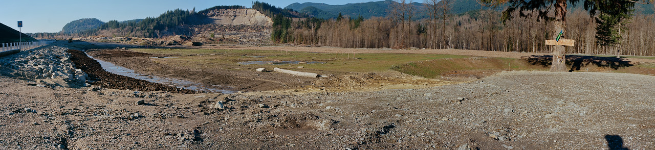 Oso Landslide Panorama