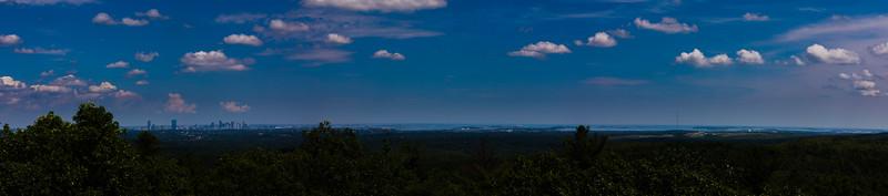 Boston Skyline from Blue Hills Reservation