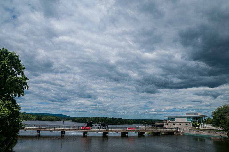 Water control dam at Rideau Falls