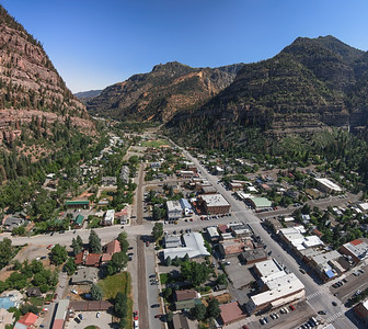 Clear and Calm Ouray Morning Skies