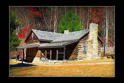 Hutchinson Homestead ~ Stone Mountain State Park NC