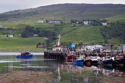 Uig, on Skye where we caught the ferry to Lochmaddy on North Uist.