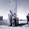 An old brownie camera shot of my family at Persepolis Iran 1966.