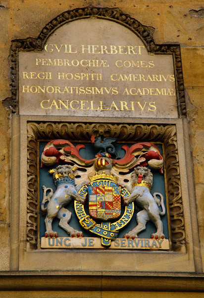 Coat Of Arms - Bodleian Library Oxford