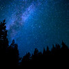 Milky Way glimmer