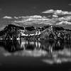 Crater Lake far side