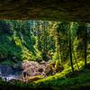 Behind North Falls