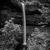 South Falls bnw