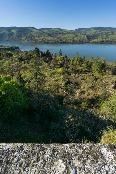 From Memaloose Overlook, Columbia River Gorge