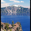 Crater Lake. This and the next 10 in the gallery are from various pull-out viewpoints on the road along the rim, or a short hike from one of them.
