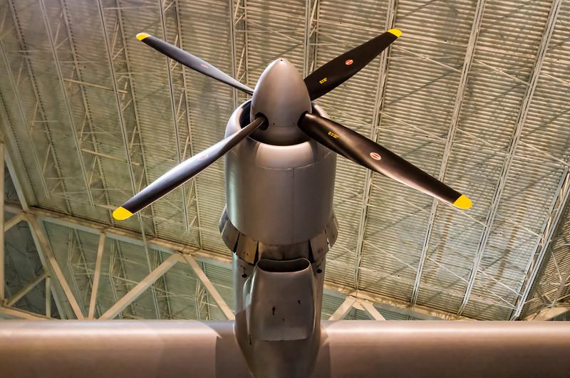 Spruce Goose prop