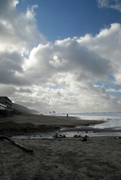 Common Oregon coast scene.