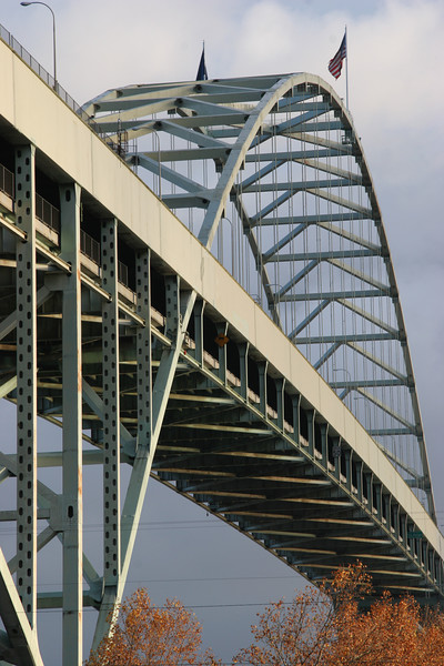 Freemont bridge in northern Portland.