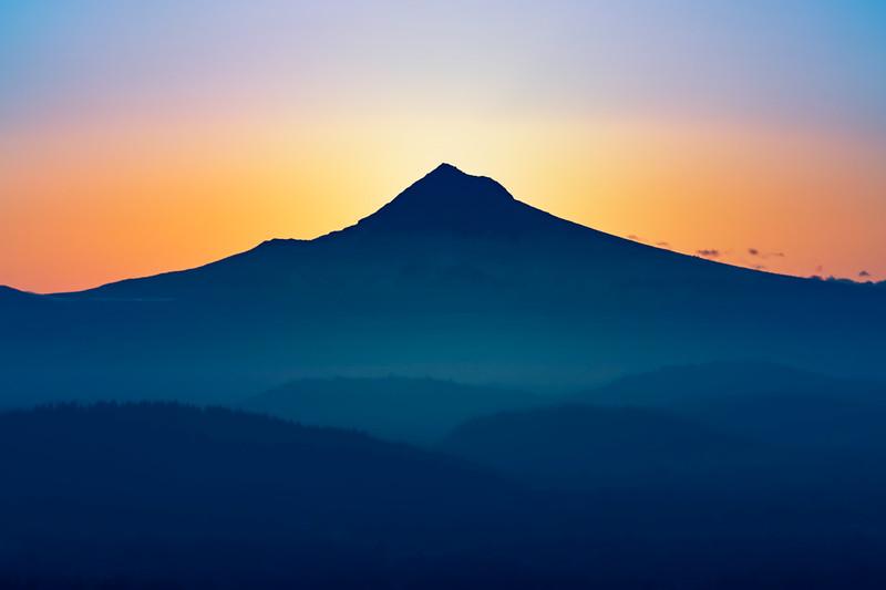 Pre-dawn Mt. Hood