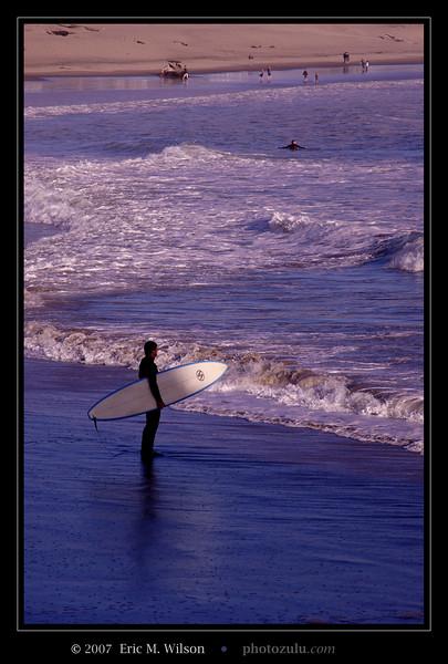 Rare surfer sighting on the Oregon Coast.