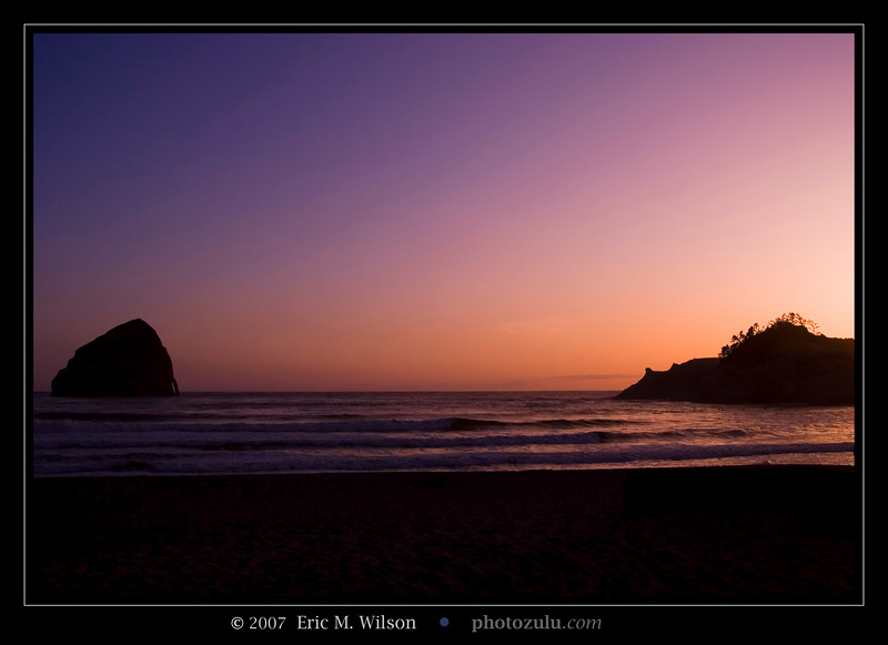Cape Kiwanda main public beach.