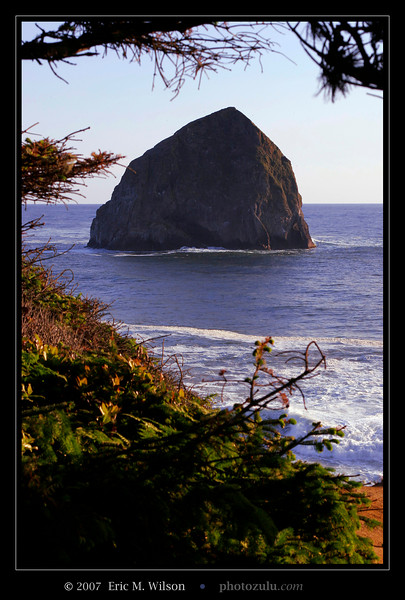 """Chief Kiawanda Rock"" (Cape Kiwanda) after short hike from the main public beach."