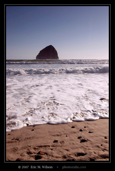 """Chief Kiawanda Rock"" at Cape Kiwanda, Oregon."