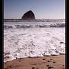 """""""Chief Kiawanda Rock"""" at Cape Kiwanda, Oregon."""