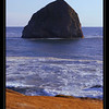 """Chief Kiawanda Rock"". Cape Kiwanda. Oregon."