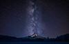 Milky Way & Mt. Hood - Infrared