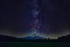 Milky Way Over Mt. Hood, Oregon