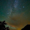Stars over Lake Crescent